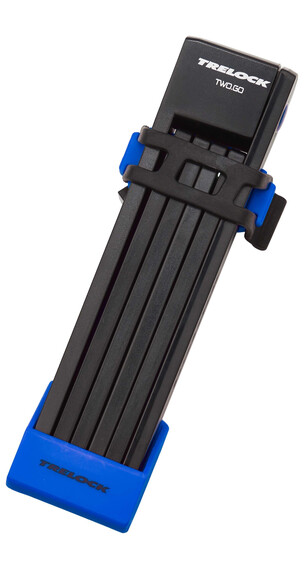 Trelock FS 200 TWO.GO L pyöränlukko 100 cm , sininen